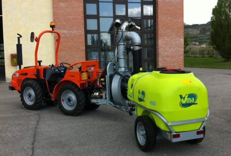 Atomizzatori-Vigneti a spalliera-Snodati-Power 50lt 1000 - Lt 1500 - Lt 2000