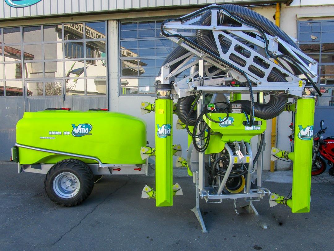 Atomizzatori-Vigneti a spalliera-Multifilare-Power Multirow A Singola Calata Centralelt 1000 - Lt 1500 - Lt 2000