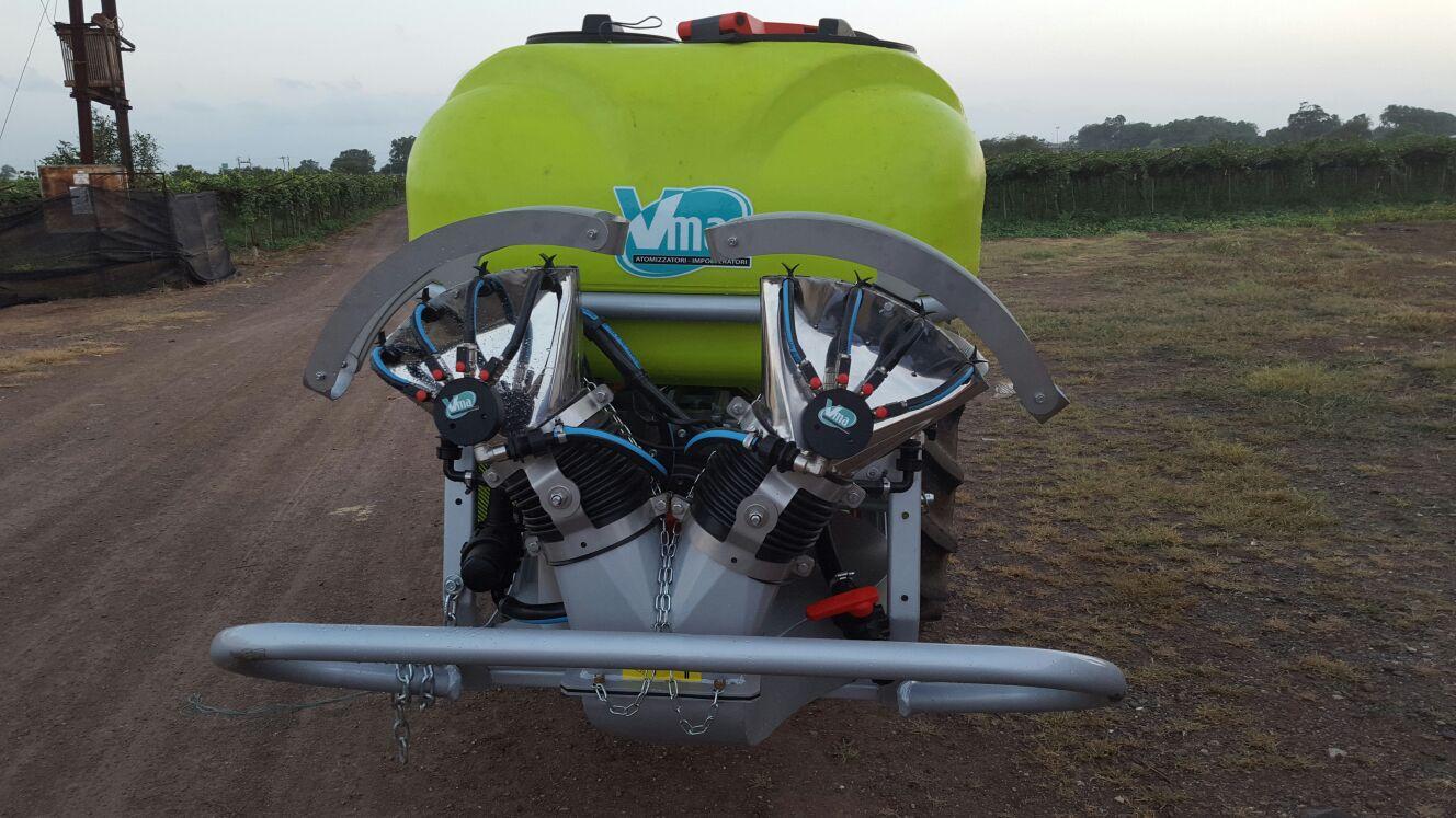 Atomizzatori-Vigneti a spalliera-Trainati-Nm 600