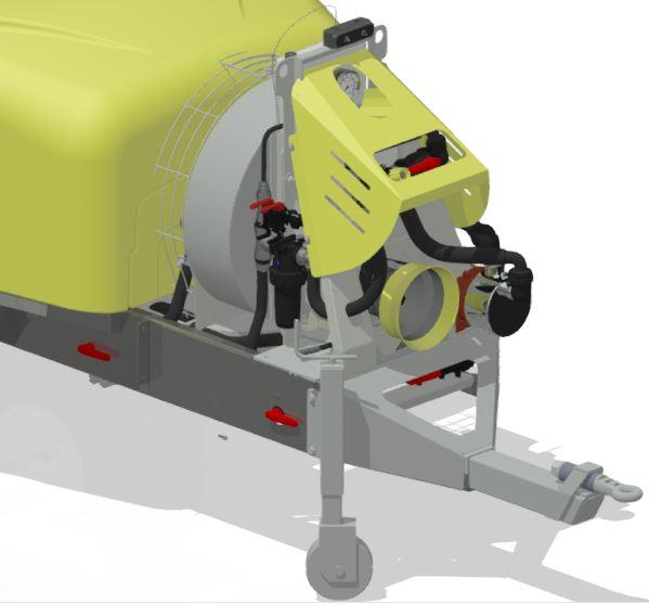 Atomizzatori-Vigneti a spalliera-Trainati-Optima Lt 1500 - Lt 2000
